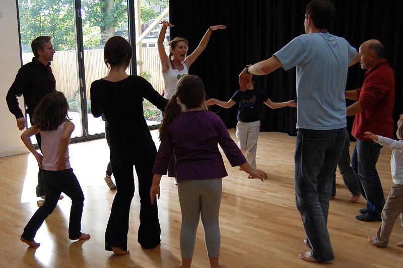 Sarah Hyams Sol Samba dance workshop