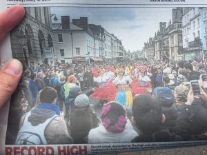 Article in OxfordMail